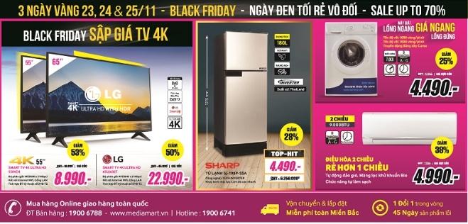 Smart TV 4K 55 inch giam con 8,99 trieu dong dip Black Friday hinh anh 1