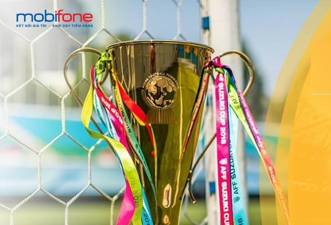 Xem AFF Cup 2018 mien phi data voi goi VTVgo cua MobiFone hinh anh