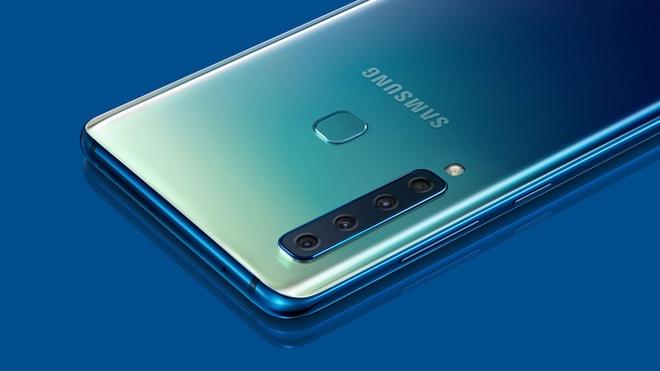 Tu camera goc sieu rong den ong kinh Tele, dau la cach Samsung tich hop vao Galaxy A9? hinh anh