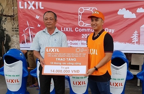 Lixil Community Day 2018 - hoat dong vi moi truong hinh anh