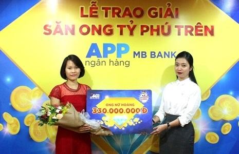 Trung 330 trieu dong khi 'san ong ty phu' tren app cua MB Bank hinh anh