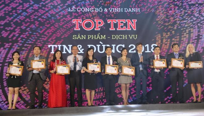 BIDV vao top 10 doanh nghiep duoc nguoi tieu dung tin tuong hinh anh