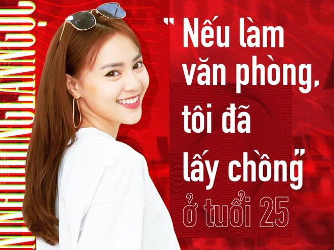 Ninh Duong Lan Ngoc: 'Neu lam van phong, toi da lay chong o tuoi 25' hinh anh