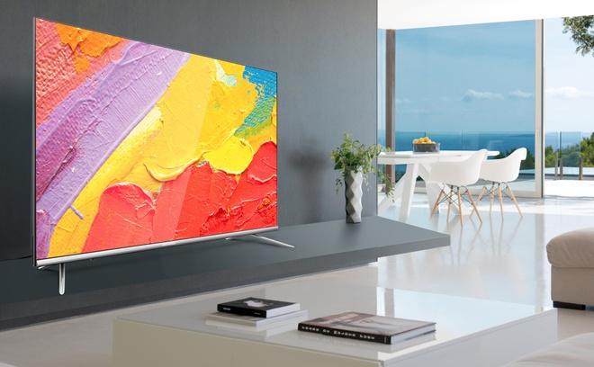 TV Coocaa 40S5G - man hinh 40 inch, ho tro dieu khien bang giong noi hinh anh