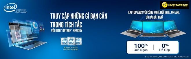 Asus ra mat laptop ung dung cong nghe Intel Optane cho dan van phong hinh anh 1