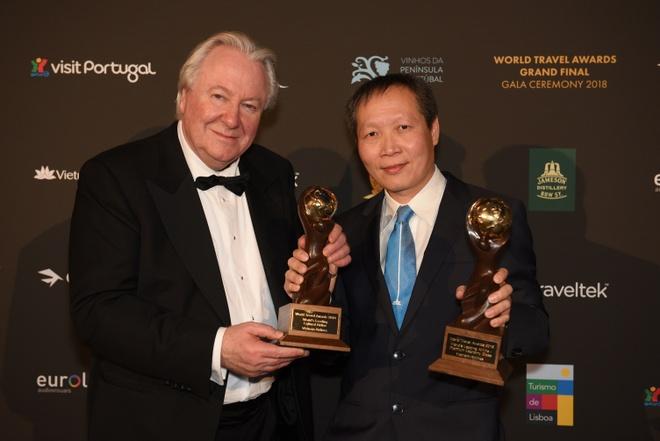 Vietnam Airlines nhan 2 giai thuong tai World Travel Awards 2018 hinh anh 2
