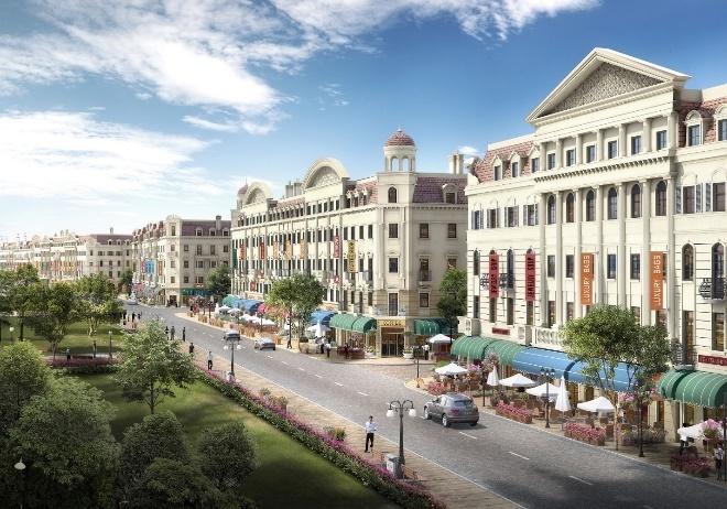 Sun Plaza Grand World - shophouse phong cach chau Au ben vinh Ha Long hinh anh