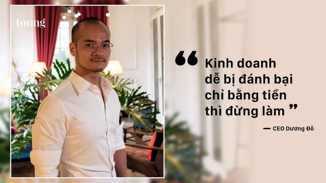 CEO Duong Do: 'Kinh doanh de bi danh bai chi bang tien thi dung lam' hinh anh