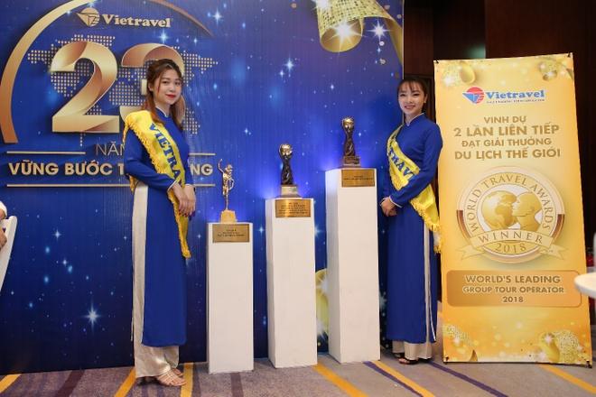 Vietravel lan thu 2 nhan danh hieu lon tai World Travel Awards hinh anh