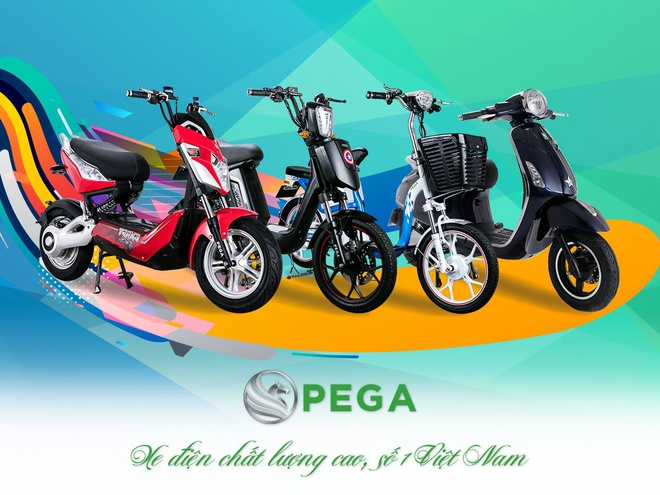 Hãng xe điện Pega giảm giá mạnh, tặng quà hấp dẫn dịp cuối năm