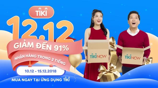 Tiki giam den 91% trong chuong trinh 'Mua sale huyen thoai 12/12' hinh anh 1