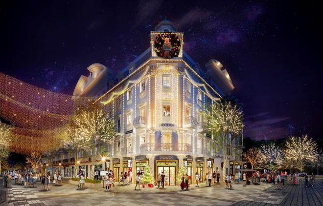 Ra mắt shophouse phong cách châu Âu tại Bãi Cháy