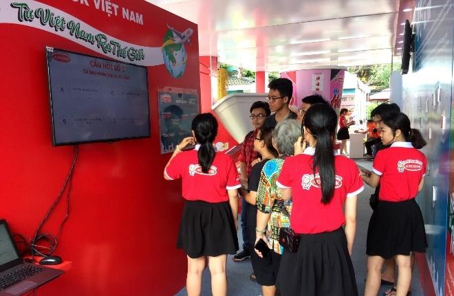 Acecook Viet Nam gioi thieu gian hang trung bay tai Buon Ma Thuot hinh anh 3