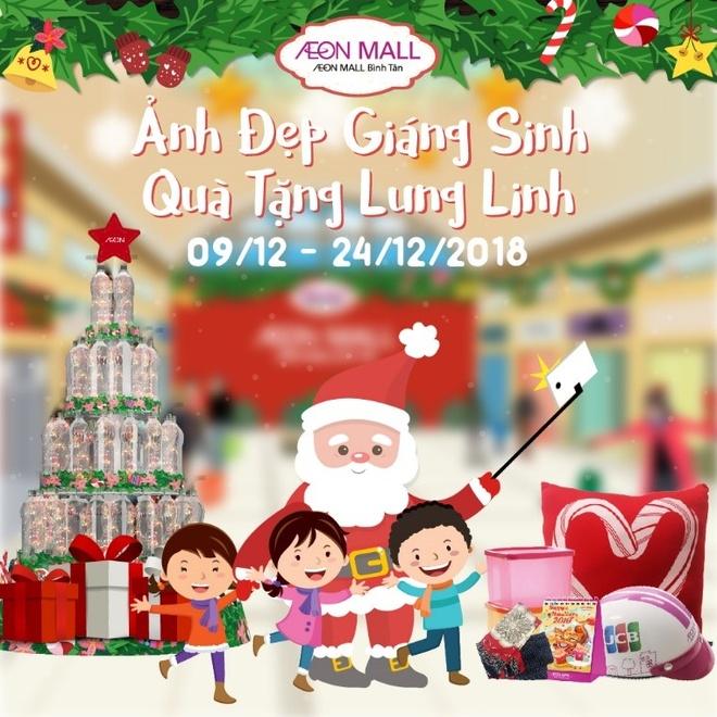Ong gia Noel tang qua tai AEON Mall Binh Tan hinh anh 5