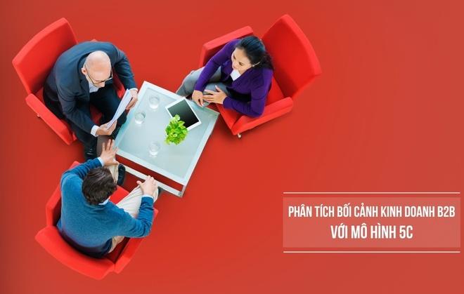 Ap dung mo hinh 5C phan tich boi canh kinh doanh trong marketing B2B hinh anh