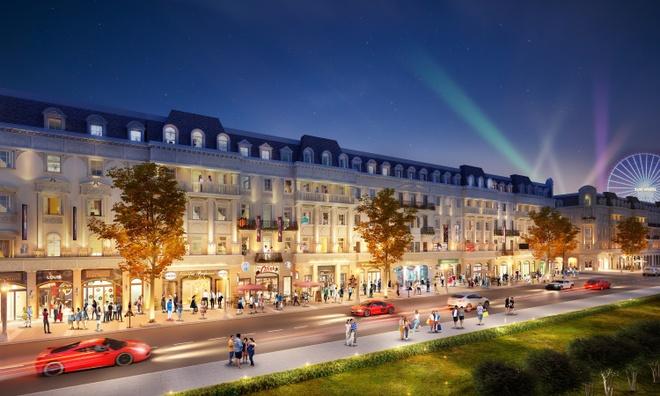 Shophouse Europe - vị trí đẹp, khả năng sinh lời bền vững