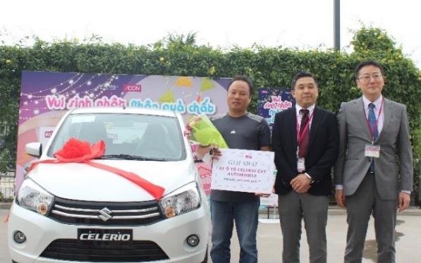 Tim ra chu nhan giai thuong xe oto Celerio CVT Automobile hinh anh 1
