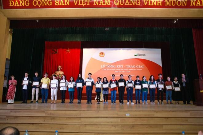 Olympic tieng Anh khoi THCS Ha Noi 2018-2019 se thi 4 ky nang hinh anh 2
