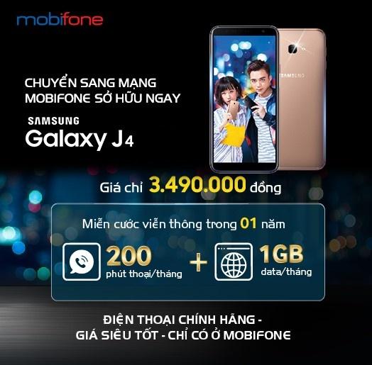 Sở hữu Samsung Galaxy từ 1,99 triệu đồng khi mua kèm gói cước MobiFone