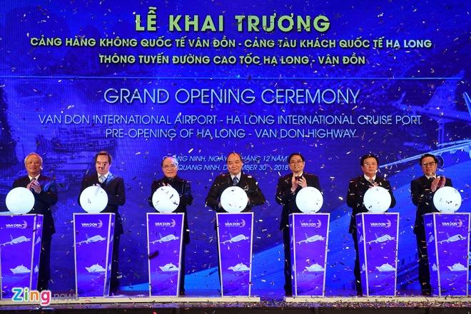 Thong tuyen san bay, cang bien, cao toc tai Quang Ninh hinh anh 1