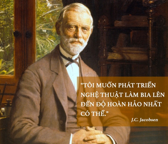 Founder Carlsberg: Toi muon nghe thuat lam bia hoan hao nhat co the hinh anh 1