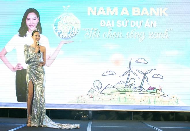 Hoang Thuy tro thanh dai su du an 'Toi chon song xanh' cua Nam A Bank hinh anh 2