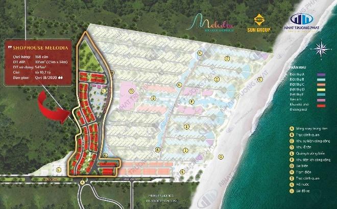 Tiềm năng đầu tư tại shophouse Melodia nam Phú Quốc