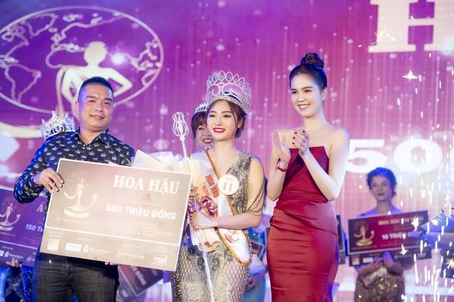 Noo Phuoc Thinh ra Da Nang du chung ket Miss GHB 2019 hinh anh 3