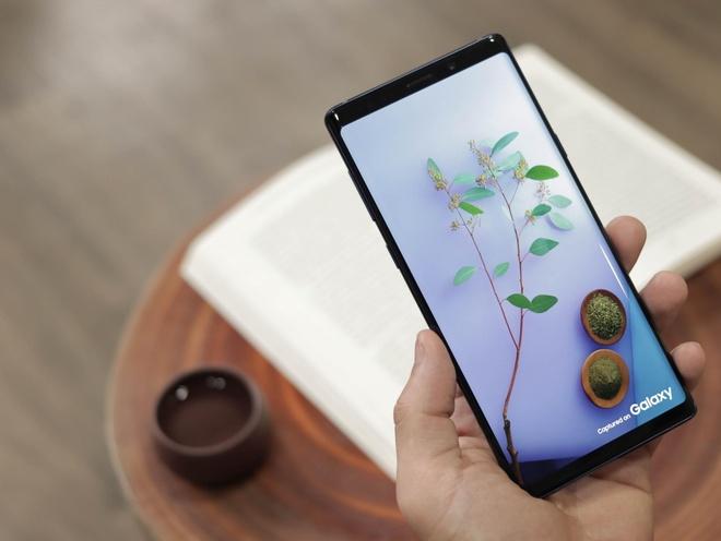 Galaxy Note 9, iPhone X va XS Max ban chay mua Tet tai Di Dong Viet hinh anh 1