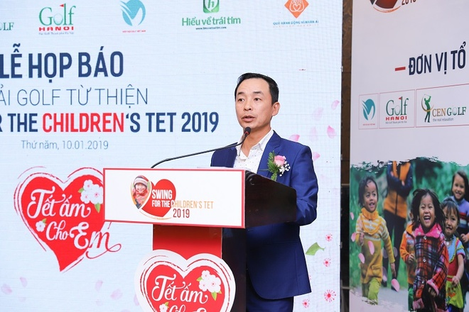 Giai golf tu thien Swing for the children's thu hut hon 150 golfer hinh anh 3