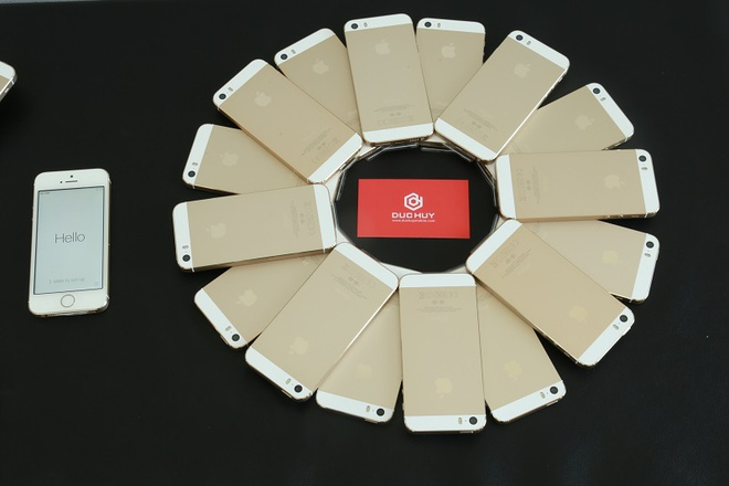 iPhone 5S chua kich hoat ve gia 2,4 trieu tai Duc Huy Mobile hinh anh 1