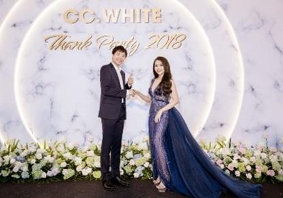 Trịnh Thăng Bình dự sự kiện tri ân cuối năm của hệ thống CC White