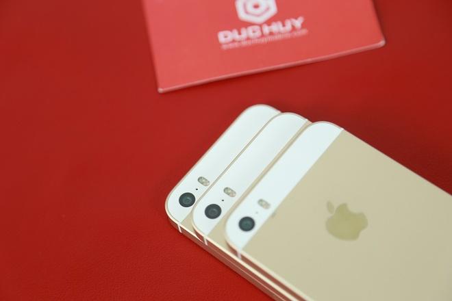 iPhone 5S chua kich hoat ve gia 2,4 trieu tai Duc Huy Mobile hinh anh
