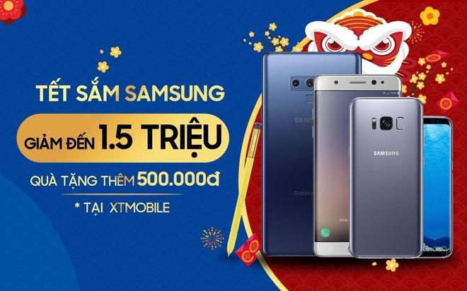 Galaxy Note FE cu giam 1 trieu, tang qua 500.000 dong tai XTmobile hinh anh 1