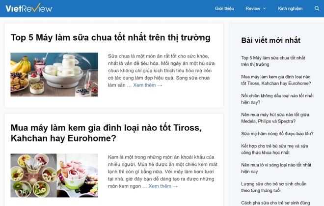 Ra mat website danh gia san pham VietReview.vn hinh anh 1