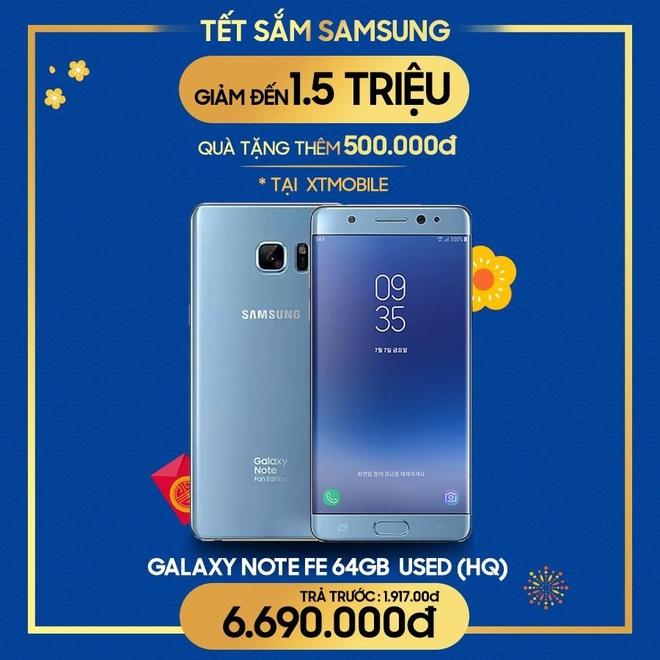 Galaxy Note FE cu giam 1 trieu, tang qua 500.000 dong tai XTmobile hinh anh 2