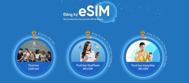 VinaPhone chinh thuc ho tro khach hang dang ky hoa mang eSIM online hinh anh 2