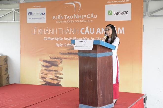 Quy thien nguyen Nam Phuong khanh thanh cau moi tai Can Tho hinh anh 3