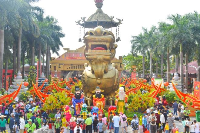 Suoi Tien khai truong 3 cong trinh moi la dip Tet Ky Hoi hinh anh 9