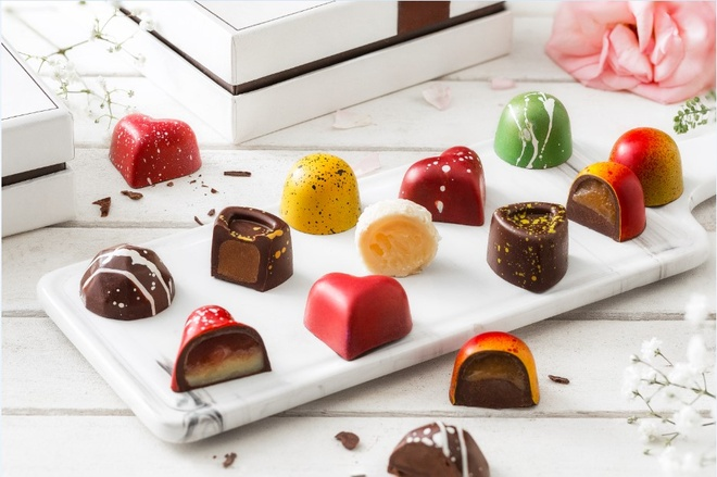 Bo suu tap chocolate cho mua Valentine 2019 tu D'art Chocolate hinh anh 1