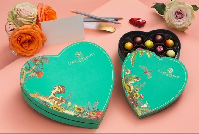 Bo suu tap chocolate cho mua Valentine 2019 tu D'art Chocolate hinh anh 2