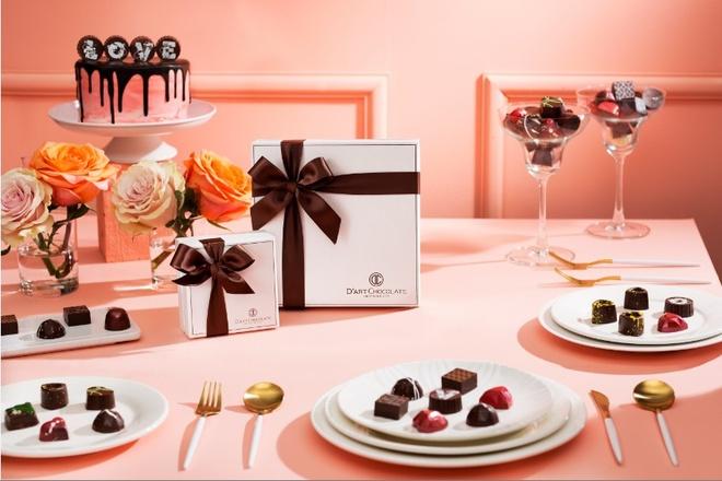 Bo suu tap chocolate cho mua Valentine 2019 tu D'art Chocolate hinh anh 3