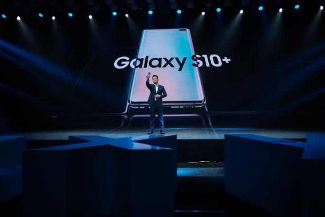 Truc tiep su kien ra mat Samsung Galaxy S10 tai Viet Nam hinh anh