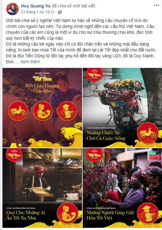 Oc Thanh Van, BLV Quang Huy chia se bo icon ve duc tinh cua nguoi Viet hinh anh 2