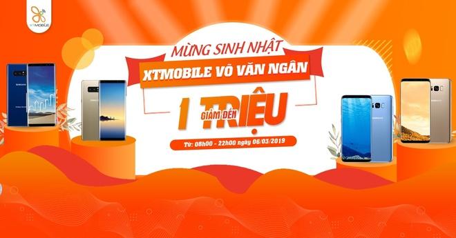 Galaxy Note 8, S8 Plus giam den 1 trieu dong tai XTmobile Vo Van Ngan hinh anh 1