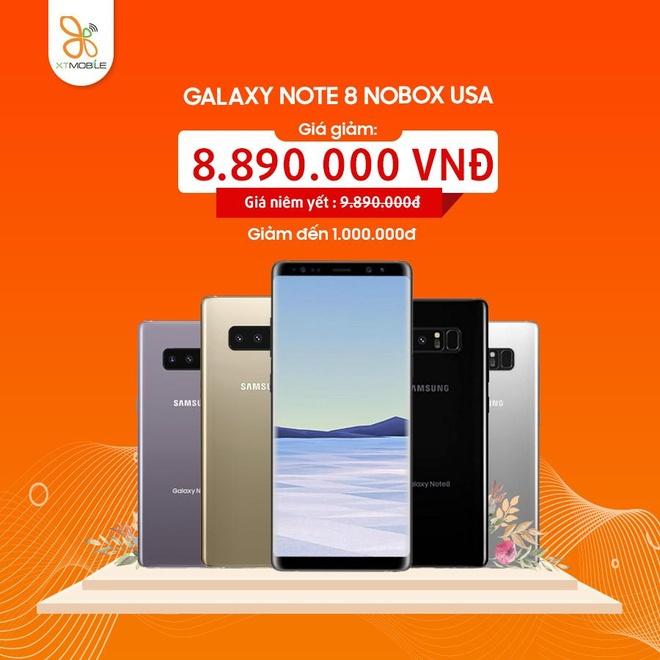 Galaxy Note 8, S8 Plus giam den 1 trieu dong tai XTmobile Vo Van Ngan hinh anh 2