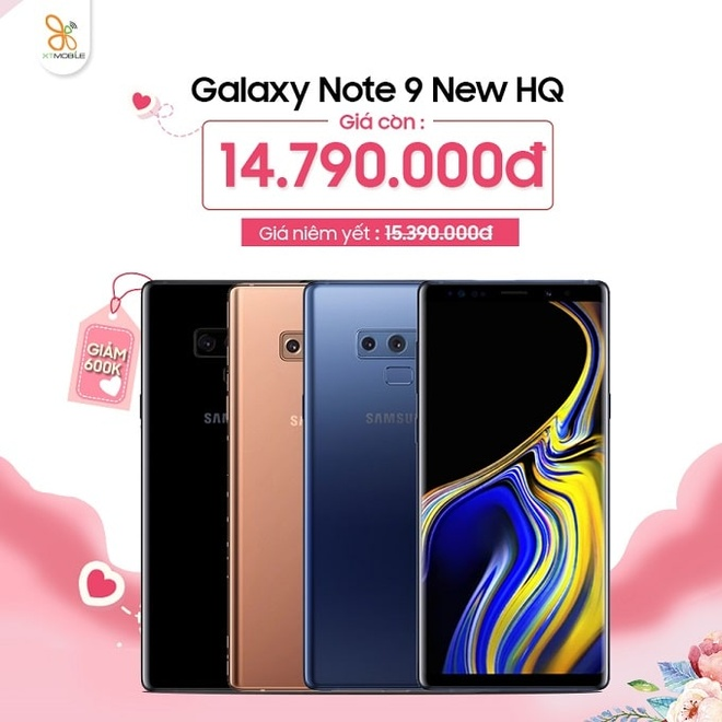 Galaxy Note 9, iPhone X giam 600.000 dong dip 8/3 tai XTmobile hinh anh 2