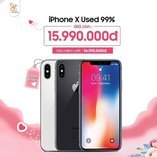 Galaxy Note 9, iPhone X giam 600.000 dong dip 8/3 tai XTmobile hinh anh 3