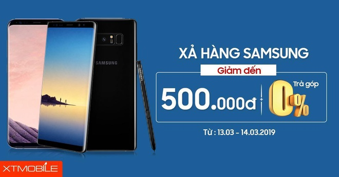 Galaxy Note 8, iPhone 7 Plus giam den 500.000 dong tai XTmobile hinh anh 1
