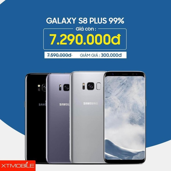 Galaxy Note 8, iPhone 7 Plus giam den 500.000 dong tai XTmobile hinh anh 3